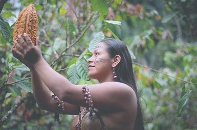 Amazon Rainforest Indigenous Woman