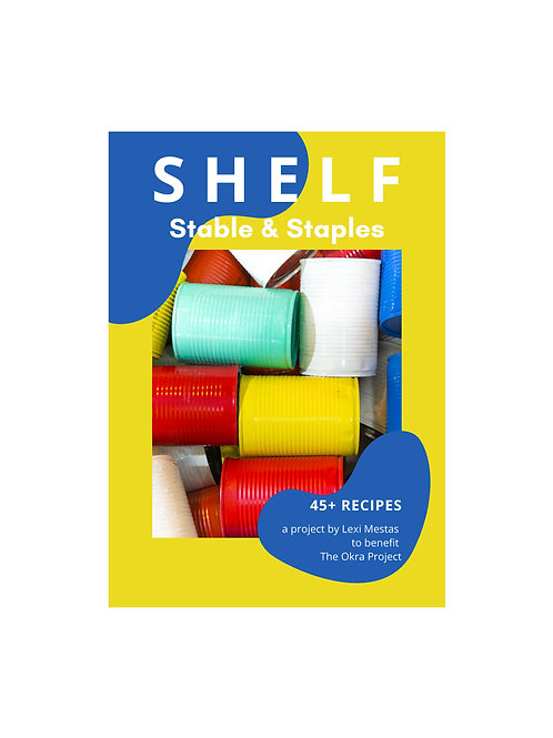 SHELF e-Cookbook + Donation