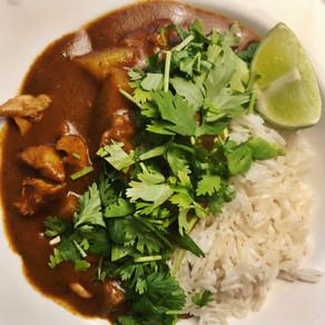 Coconut-Braised Chicken Curry