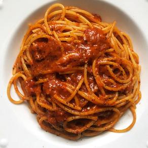 Spicy Nduja Spaghetti