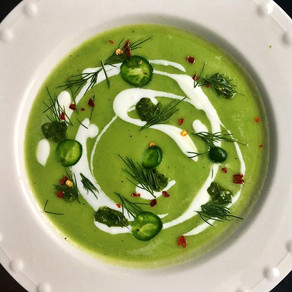 Chilled Green Soup