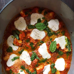 Baked Gnocchi in Otamot Tomato Sauce