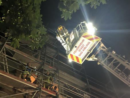 Unruhige Nacht für die Feuerwehr Bad Aibling