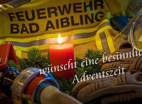 Die Feuerwehr wünscht eine schöne Weihnachtszeit