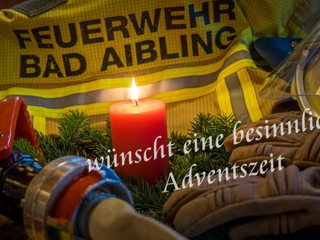 Die Feuerwehr Bad Aibling wünscht eine besinnliche Adventszeit