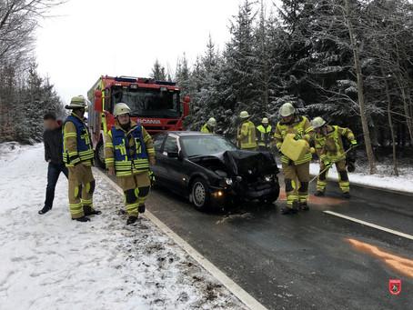 Verkehrsunfall bei Holzhausen