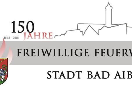 Die Feuerwehr Stadt Bad Aibling feiert bald ihr 150 jähriges Bestehen