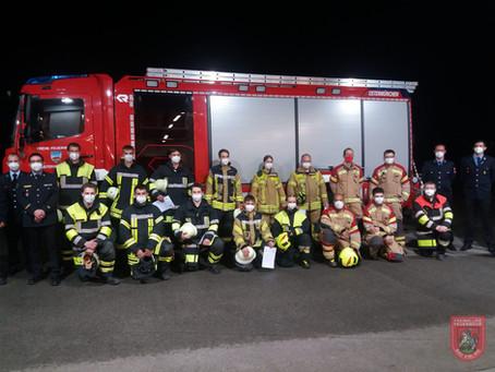 Zwei neue Atemschutzgeräteträger für die Feuerwehr Stadt Bad Aibling