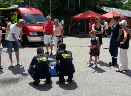 Jugendfeuerwehr Bad Aibling beteiligt sich am Kindernachmittag beim Bürgerfest