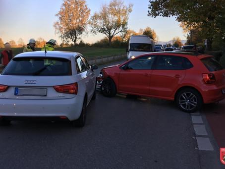 Verkehrsunfall in der Kolbermoorer Straße