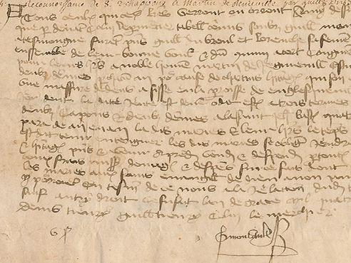 manuscrit paléograhie