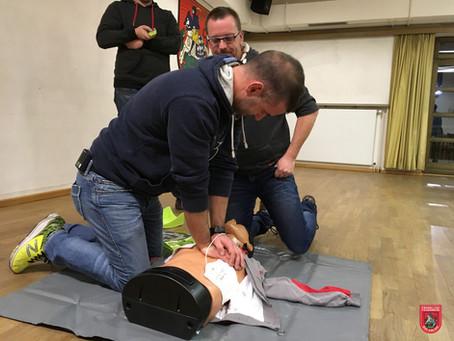 Jährliche Unterweisung in Erste Hilfe