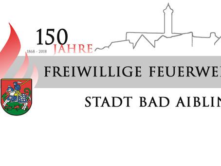 Die Feuerwehr Stadt Bad Aibling feiert bald 150 Jähriges Bestehen