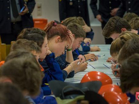 Wissenstest der Jugendfeuerwehren in Bad Aibling