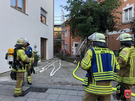 Zimmerbrand in der Irlachstraße