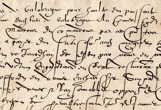 manuscrit ancien paléographie