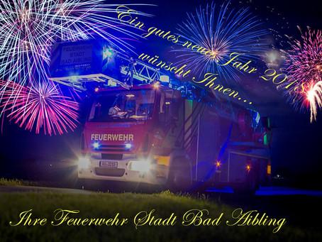 Die Feuerwehr Bad Aibling wünscht ein gutes neues Jahr