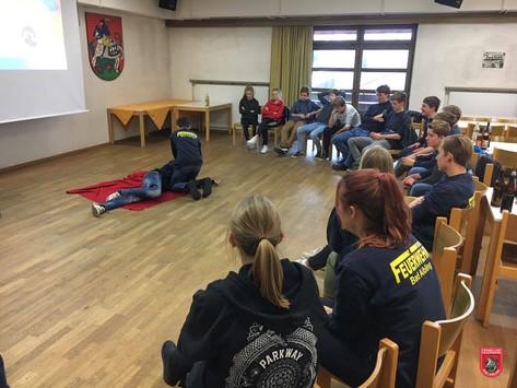 Erste-Hilfe Kurs für die Jugendfeuerwehr