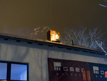 Einsatzübung Kaminbrand