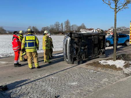 Verkehrsunfall in der Ebersberger Straße