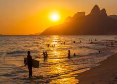 Praias de Ipanema e Leblon, Rio de Janei