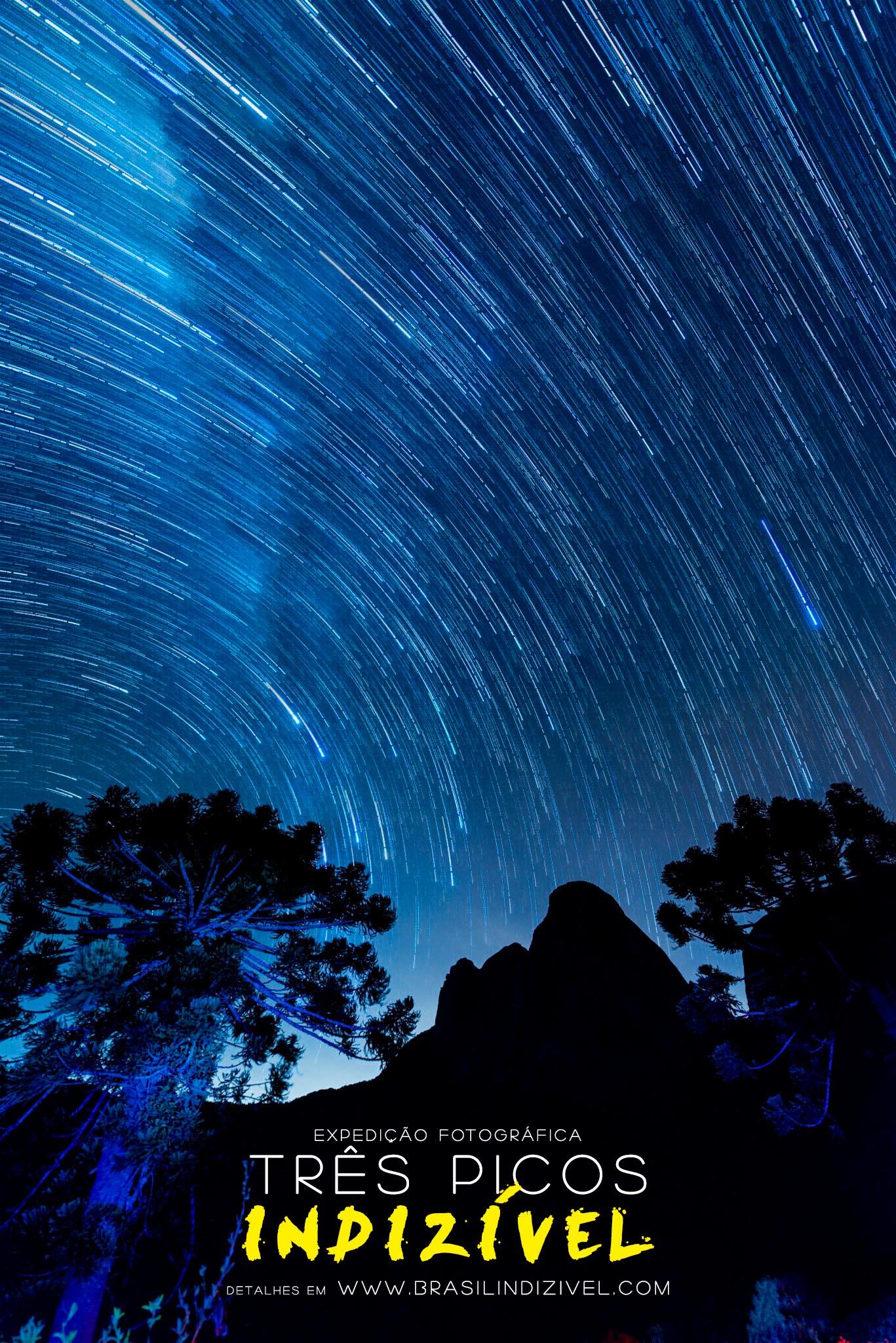 star trail tres picos