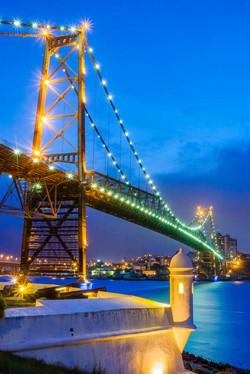 Ponte Hercilio Luz e Forte Santana  0002
