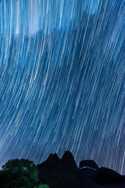 tres picos star trail
