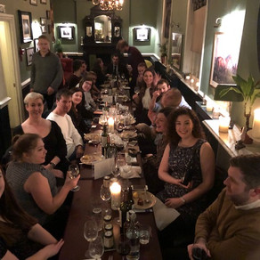 VIE Hosting Dinner for Trailfinders London Offices at the Running Horse in Mayfair!