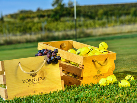 Golf, cheese and wine at Zornitza, Bulgaria
