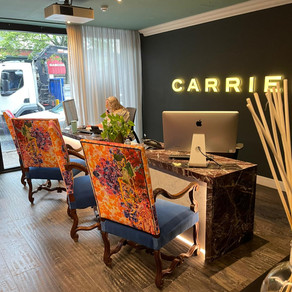 In Alderley Edge today with the Carrier Travel team!