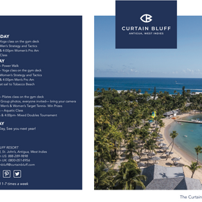 Check out the Tennis Week Brochure 2021 for Curtain Bluff