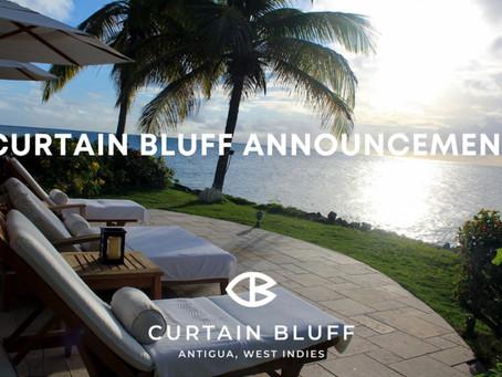 Curtain Bluff Announcement