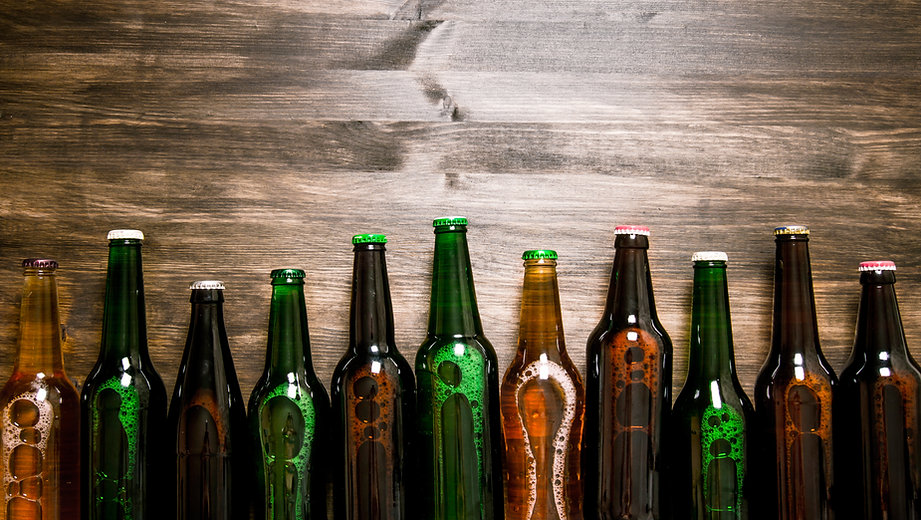 our products beer bottles