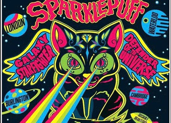 Sparklefluff, Galaxy Starfighter Defender of the Universe