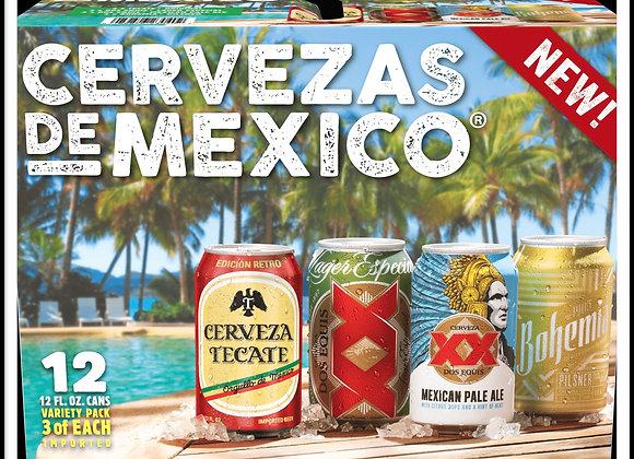 Cervezas de Mexico Variety