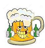 drinking-beer-cartoon-vector-illustratio