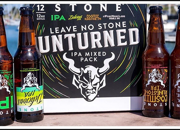 Leave No Stone Unturned IPA Mix Pack