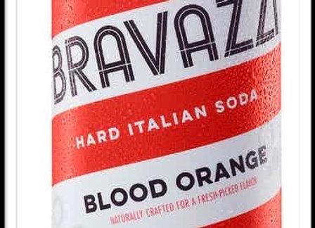 Blood Orange Hard Italian Soda