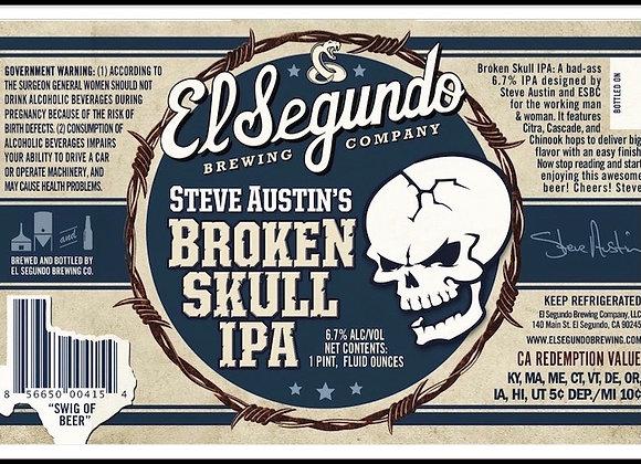 Steve Austin's Broken Skull