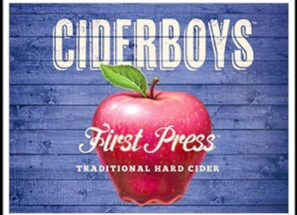 First Press Traditional Apple Hard Cider