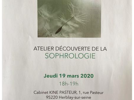 Atelier : Découverte de la sophrologie
