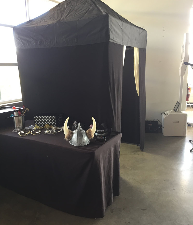 Tent Photo Booth 1