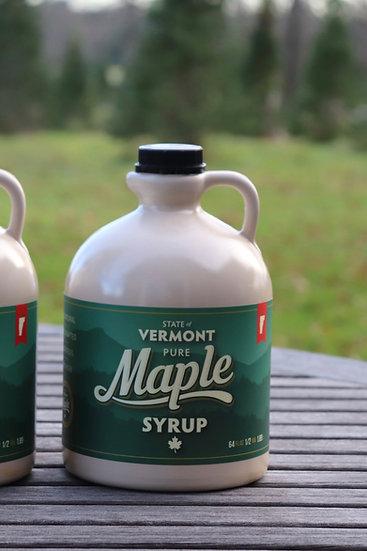 Vermont Maple Syrup, 1/2 Gallon