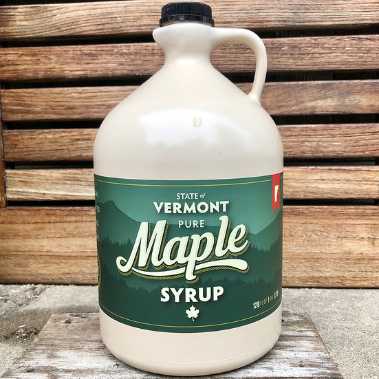 Vermont Maple Syrup, 1 Gallon *LOCAL PICKUP ONLY