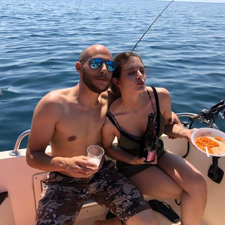 Sole, pesca e buon vino