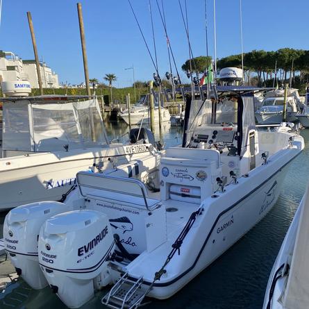 Nuova imbarcazione della Jesolo Fishing Charter