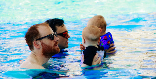 At what age should my baby learn to swim?