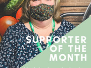 January's Supporter of the Month!
