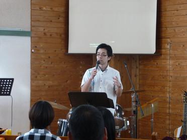 2016年10月30日聖日礼拝